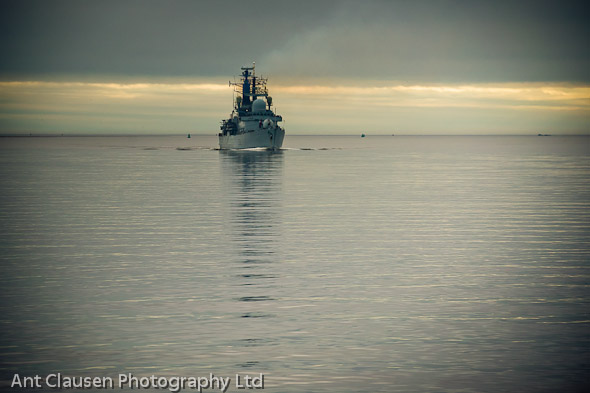hms liverpool by ant clausen