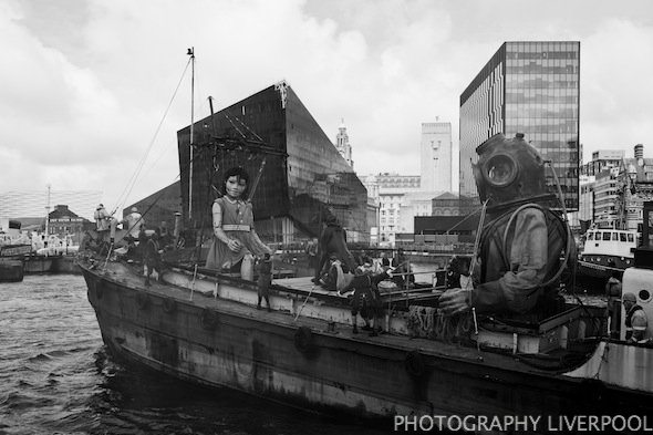 Sea Odyssey Giant Spectacular Photography Liverpool