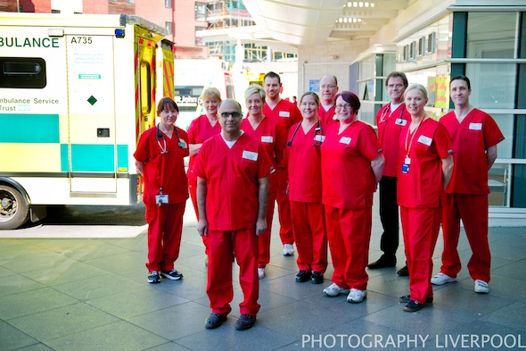 liverpool royal hospital trauma team photography liverpool