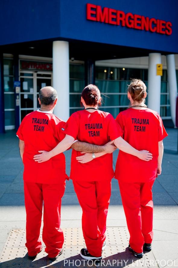liverpool royal hospital trauma team photography liverpool
