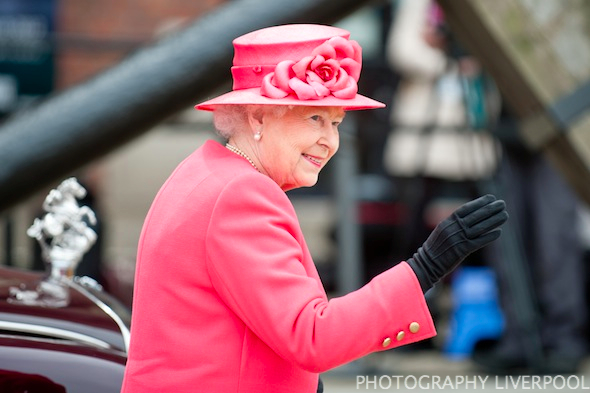 Her Majesty The Queen Photography Liverpool