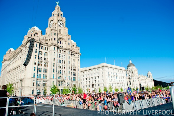 Photography Liverpool Olympic Torch Relay Liverpool London 2012 Olympics