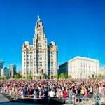 Some photo's from the spectacular Olympic Torch festivities in Liverpool!
