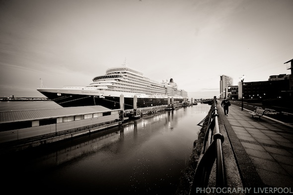 Cunard Liner Queen Elizabeth Photography Liverpool