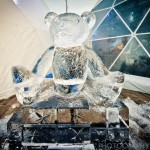 Photos from the amazing ice carving at the Ice Festival in Liverpool One
