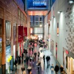 Shoppers brave the dismal weather at Liverpool ONE - A photo from our recent shoot
