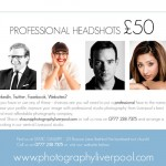 Professional Corporate Headshots in Liverpool for £50