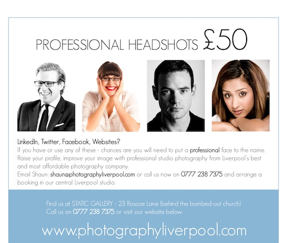 Photography Liverpool Studio Photography
