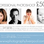 Professional Photo Shoot in Liverpool City Centre - just £50 per head!