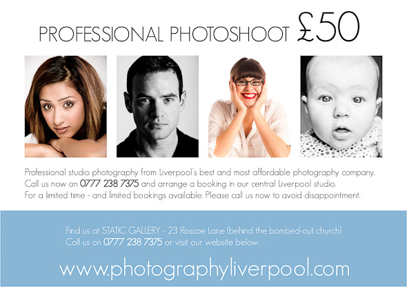 photo of professional photography in liverpool city centre